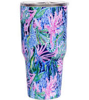 "Load image into Gallery viewer, Lilly Pulitzer Yeti Tumbler  ""Bringing Mermaid Back"""