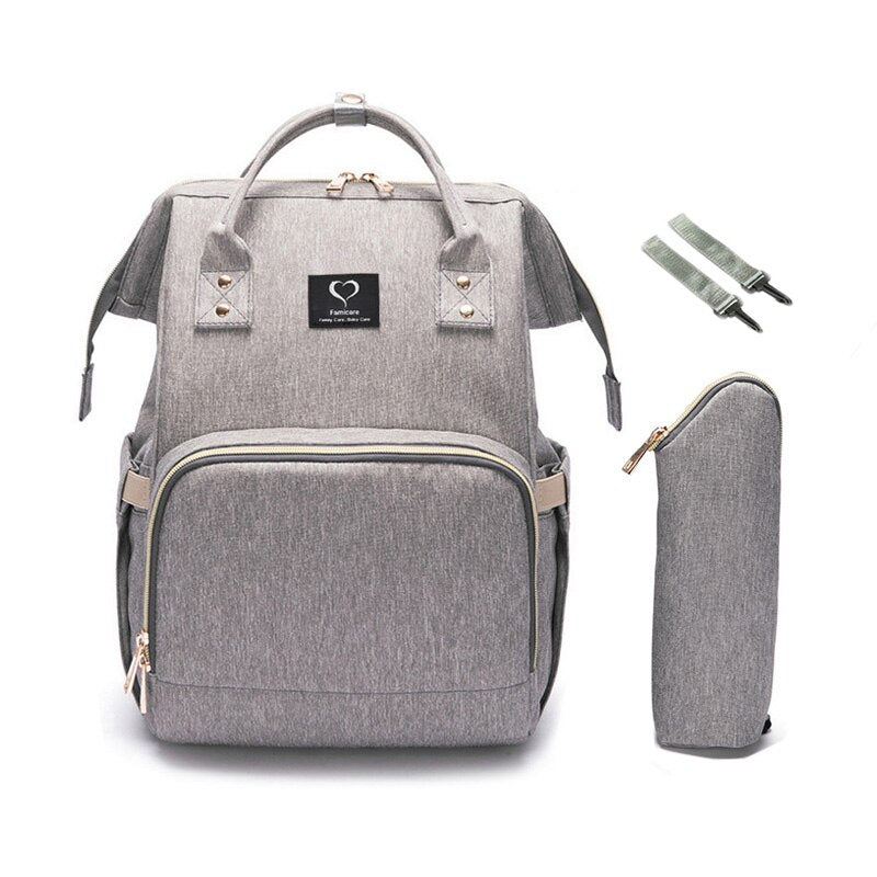 Medium Waterproof Diaper Backpack - V.I.Kids