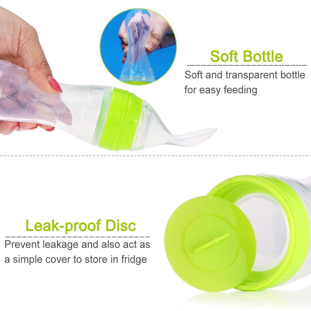 Feeding bottle (Food Dispensing Spoon) 120ml