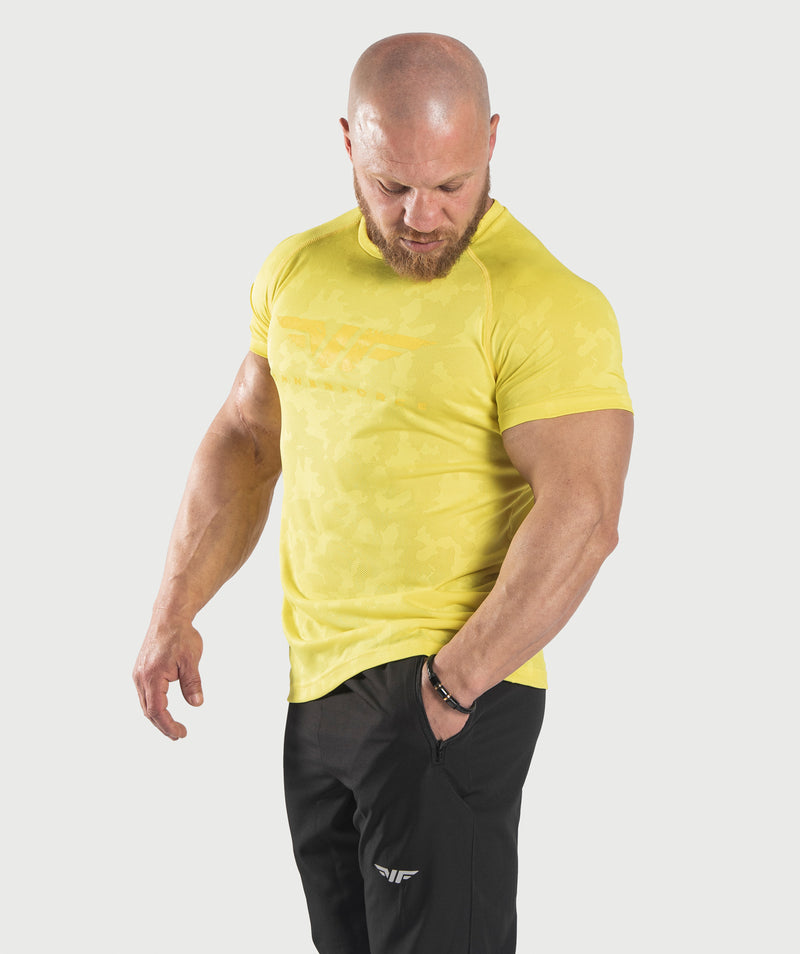 MEN-STRUGGLE-T-SHIRT(YELLOW)