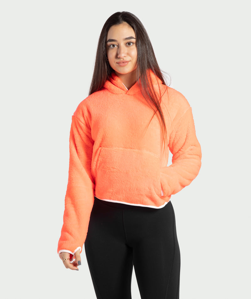 WOMEN-PEDITA-HOODY(PUNCH-PINK)