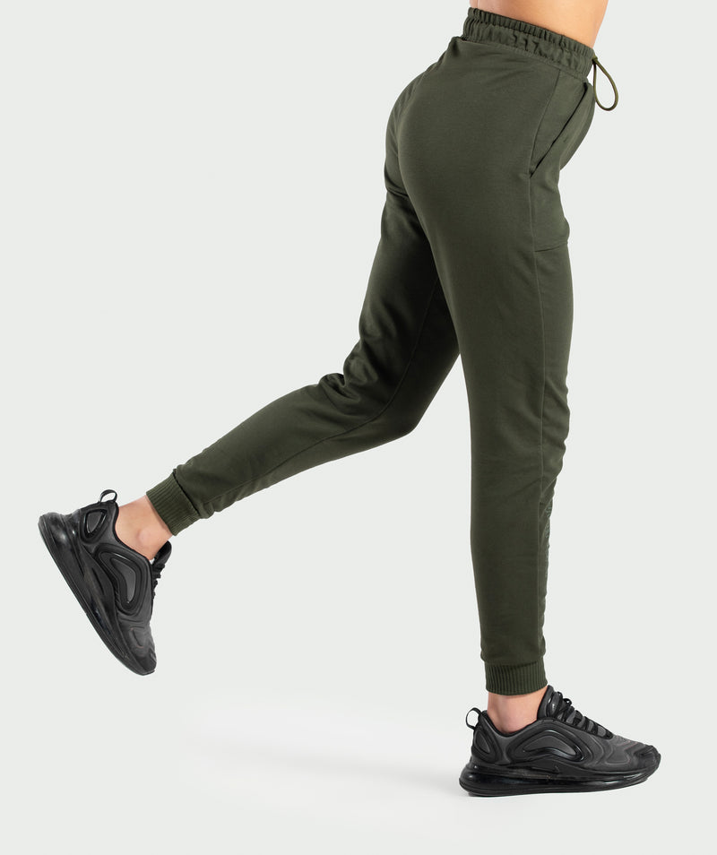 WOMEN-DARCY-PANT(ARMY-GREEN)