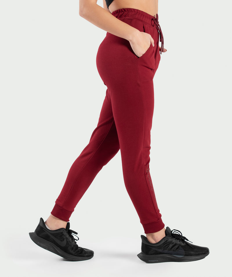 WOMEN-DARCY-PANT(BURGUNDY-RED)