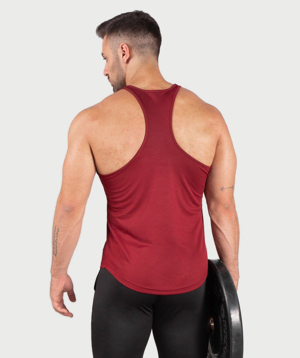 MEN-POWEREST-TANK(DARK RED) winnerforcelb
