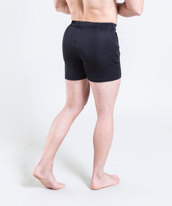 men - leganzo - short - black - comfy