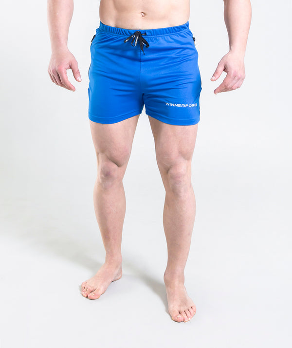 men - leganzo - short - dark blue- comfy