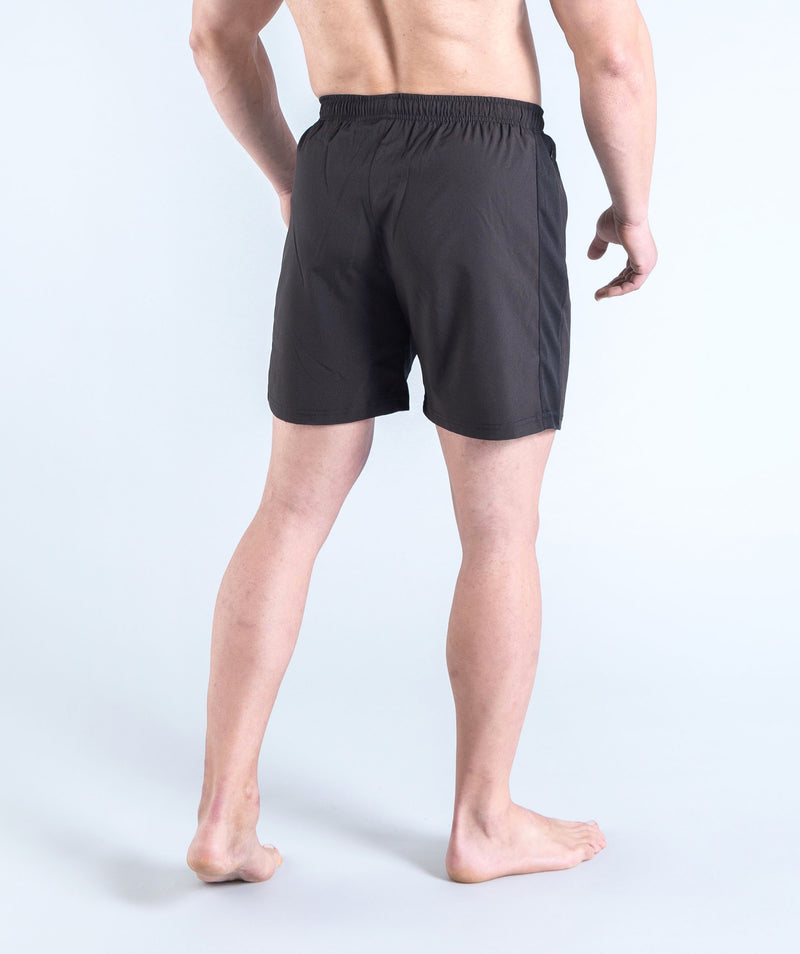gym black shorts for men