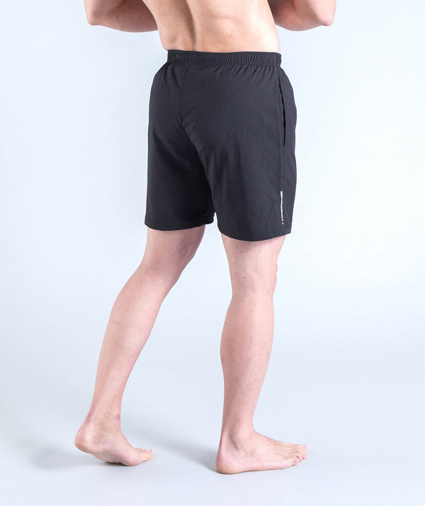 men - gymnex - short - black - sportswear - comfy - stylish