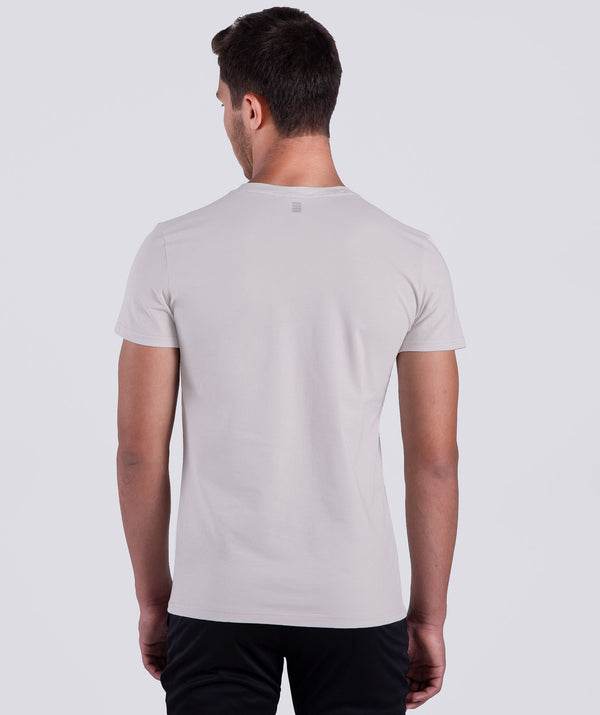 men - light white -short sleeves - fashion sportswear - dry fit - winner force - online - LEBANON