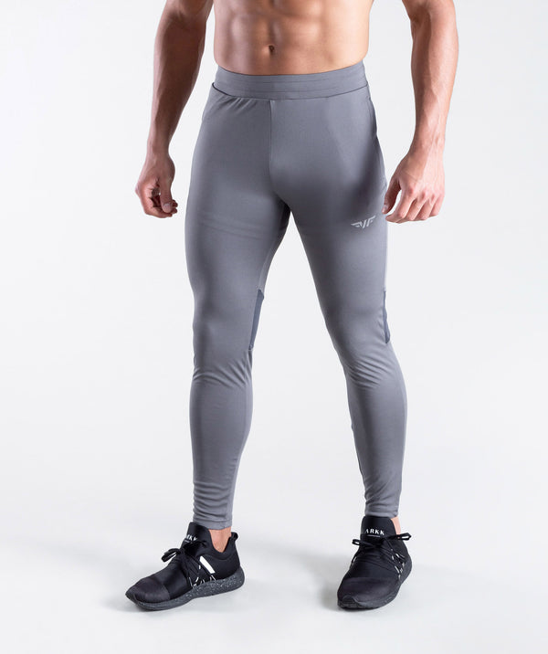 men - revanzo - grey- pants - sportswear