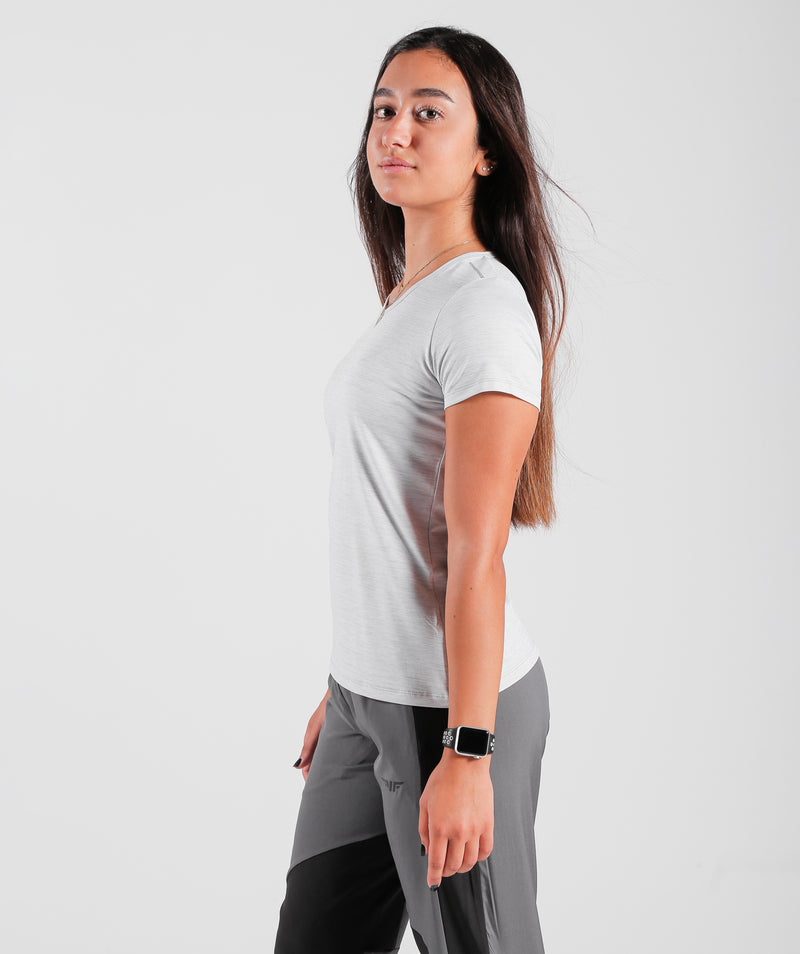 Women short sleeves T-shirt dry fit for training FRANCE