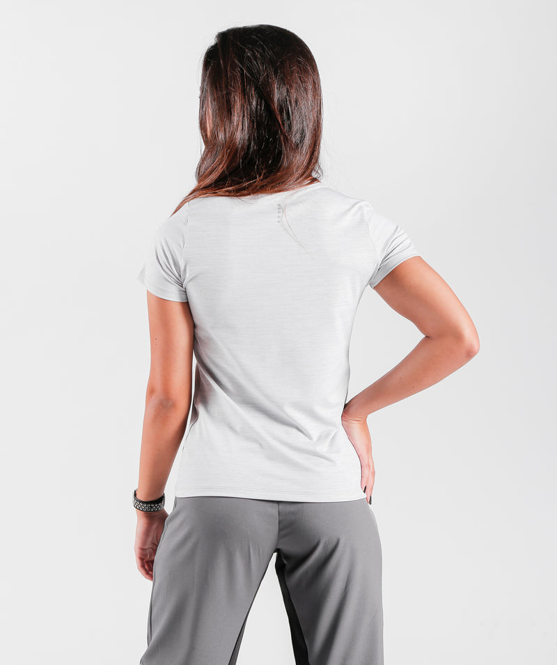 running T-shirt's for women crew neck short sleeves with polyester fabric GERMANY