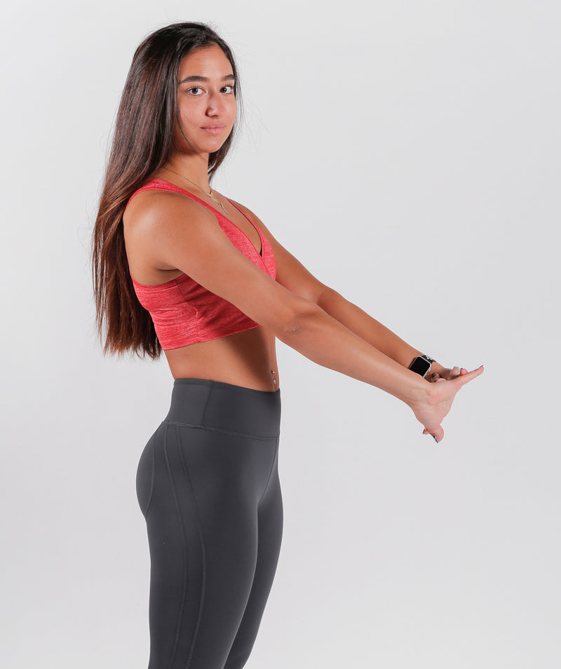 Sportswear Online Made In LEBANON In Athlete Wear Candy Red Legging