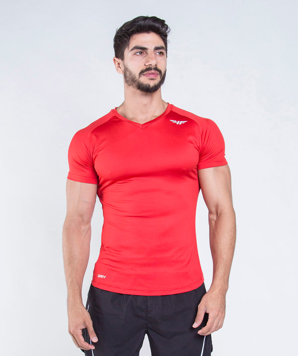 MEN-FIVEZY-T-SHIRT(RED)