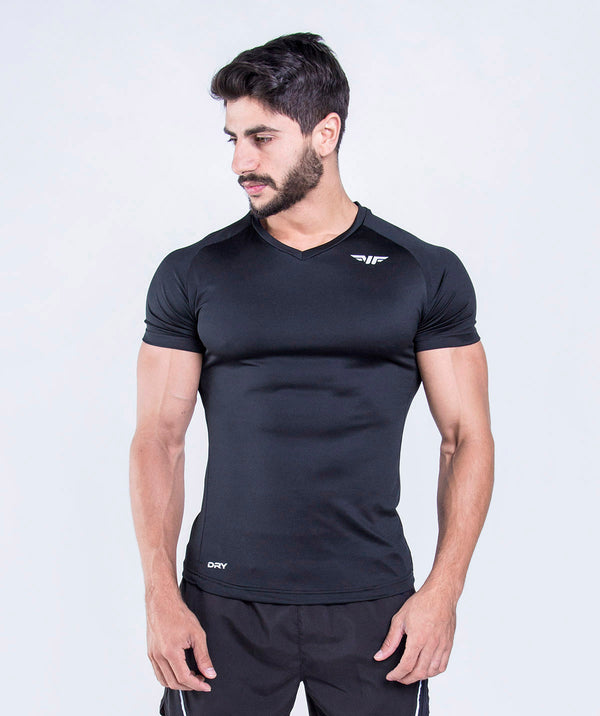 THIS TSHIRT IS SLIM FIT,SHORT SLEEVES WITH CREW NECK.IT IS VERY SUITABLE TO SHOW OFF YOUR BODY.MADE OF STRETCHY FABRIC TO SCULPT YOUR BODY DURING YOUR WORKOUT IN AND OUTSIDE THE GYM.