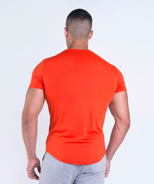 men t-shirt orange for gym LEBANON