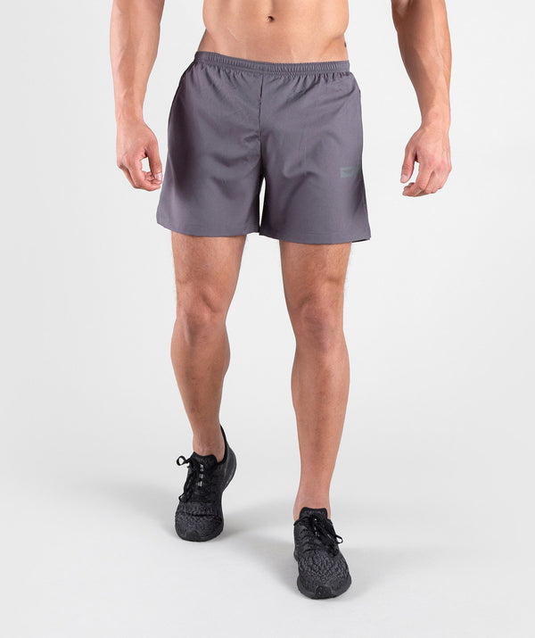 Men grey sports shorts laser perforating dry fit BAHRAIN