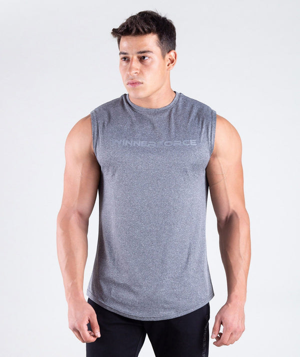 THIS TRAINING TANK TOP IS PERFECT FOR ALL YOUR SPORTS ACTIVITIES.IT IS REGULAR FIT WITH WINNERFORCE REFLECTIVE LOGO PRINTED .