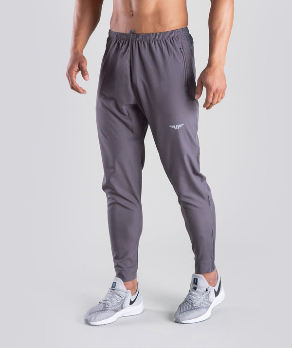 THE ATHLETES GREY PANT ARE VERY COMFORTABLE WITH YKK ZIPPER AND A REFLECTIVE LOGO TO THE LEFT LEG.YOU CAN WEAR IT WHILE LIFT ING ,RUNNING OR ANY SPORTS ACTIVITY.