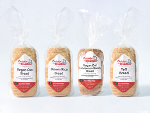 Bread 6-Pack: Six Loaves of Your Favorite Gluten-Free Bread