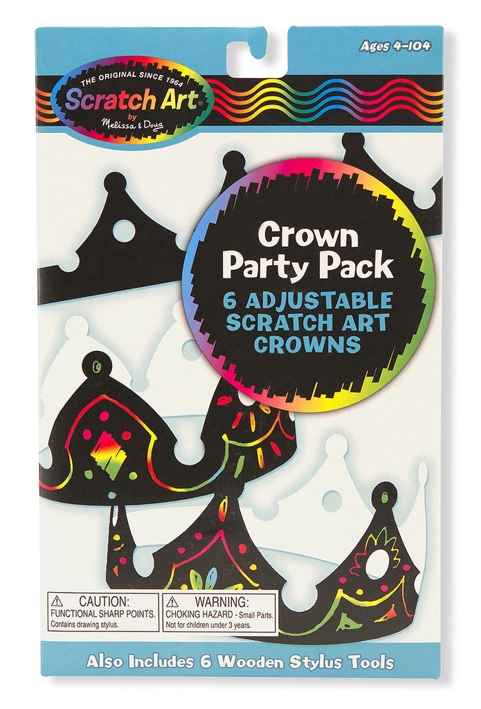 Scratch Art® Classroom Packs - Scratch Art® Party Pack - Crowns [Home Decor]- Olde Church Emporium