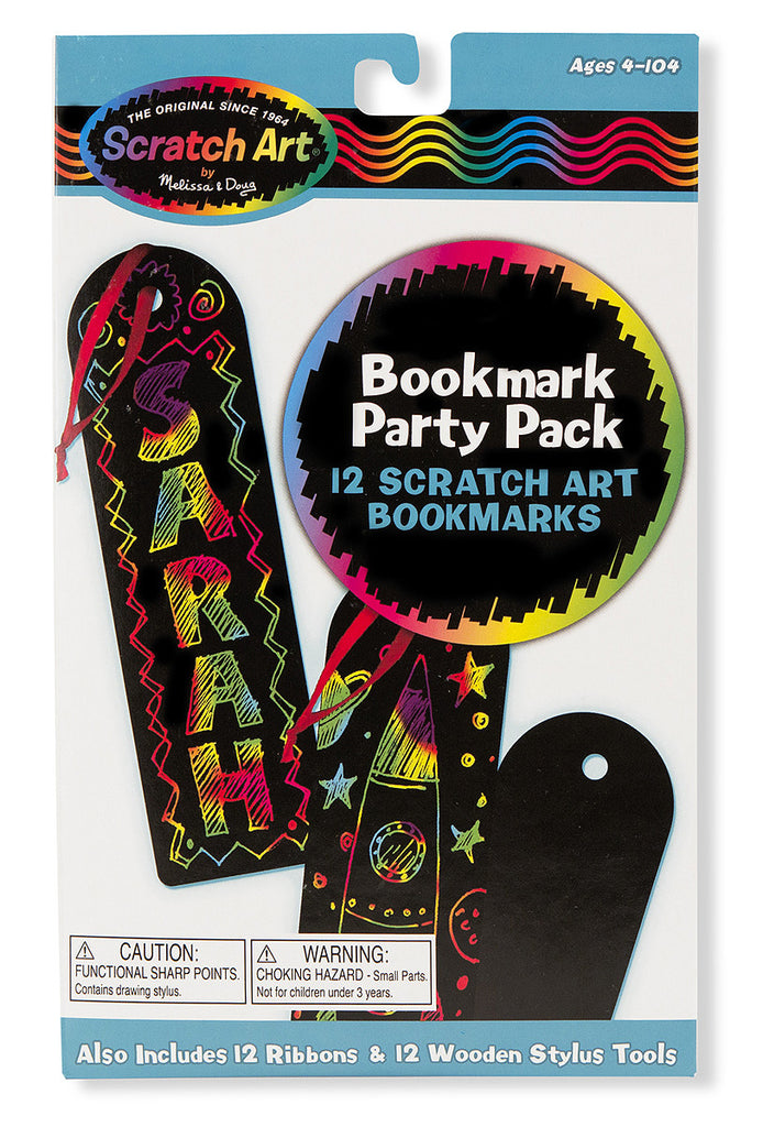 Scratch Art® Classroom Packs - Scratch Art® Party Pack - Bookmarks