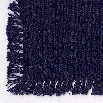Homespun Tablecloth - Navy Tablecloth - Made in USA