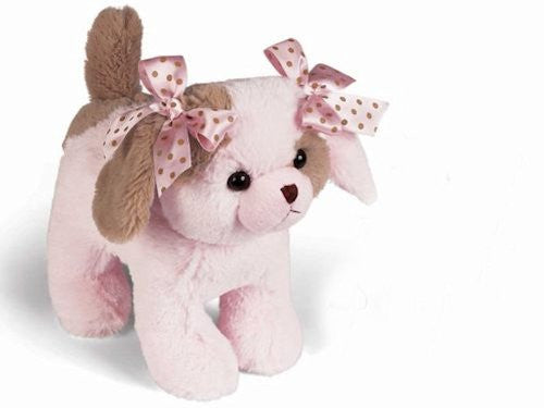 Bearington - Wiggles Pink Puppy Musical Bank - 10 Inches - Olde Church Emporium