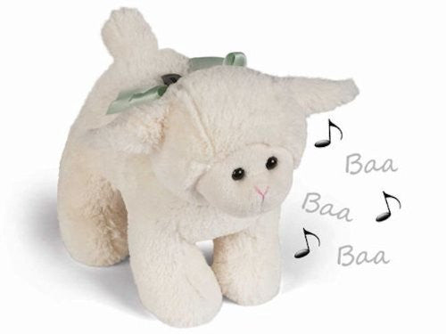"Lamby Lamb  Musical Bank 9"" by Bearington"
