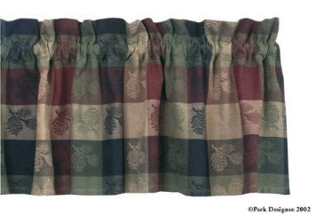 Park Designs - Pinecone Valance 72 x 14 Inches