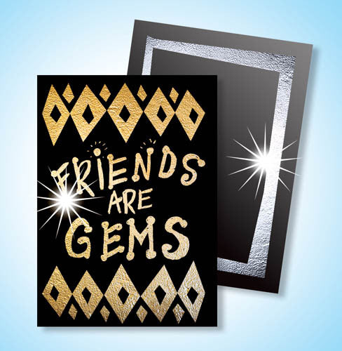 Scratch Art® Classroom Packs - Scratch Art Gold & Silver Scratch-Brite Artist Trading Cards