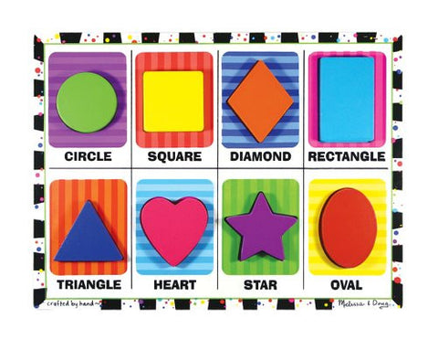 Melissa & Doug Shapes - Chunky Puzzle [Toy]