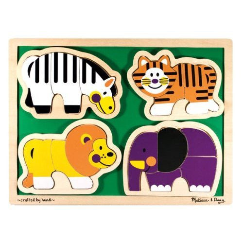 Melissa & Doug Zoo Animals - Shaped [Toy]