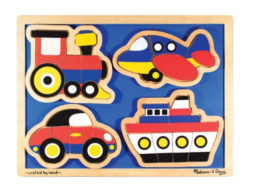 Melissa & Doug Things That Go - Shaped [Toy]