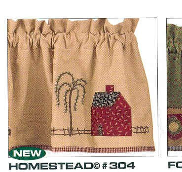 "Swag Pair - Homestead 72"" x 36"""" - Olde Church Emporium"