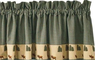 Northern Exposure Moose & Tree Valance