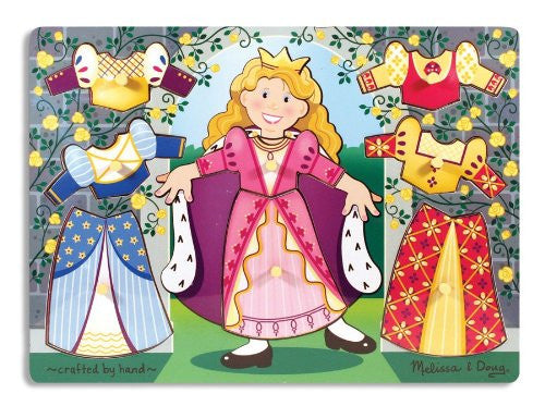 Melissa & Doug Princess Dress-Up Mix 'n Match Peg [Toy]