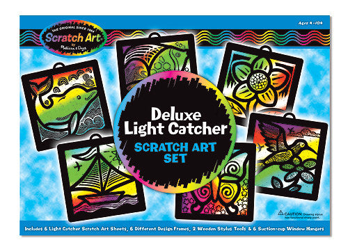 Scratch Art® - Light Catcher - Deluxe Boxed Set - Boxed Kits