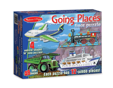 Melissa & Doug Going Places Floor Puzzle - 48 Piece [Toy]