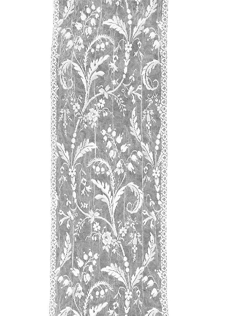 Heritagwe Lace - Coventry Collection - Valances, Panels, Scarf in Ivory