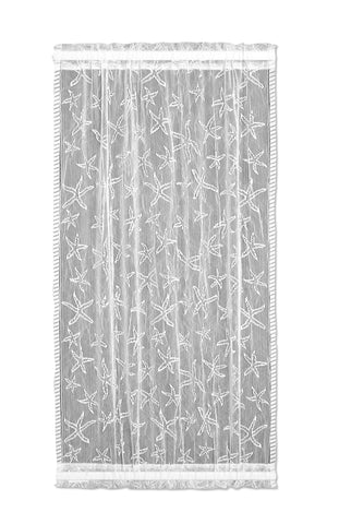 Heritage Lace  - Starfish Collection - Curtains, Runners, Shower Curtain, Material, etc