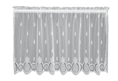 Heritage Lace - Welcome Collection - Curtains, Pillows in White, Ecru, Natural Colors