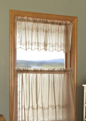 Sheer Divine Curtain Lace Valance