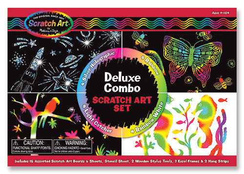 Scratch Art® Deluxe Combo Set - Boxed Kits
