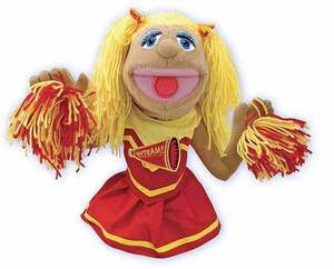 Cheerleader Puppet 3+ YEARS [Home Decor]- Olde Church Emporium