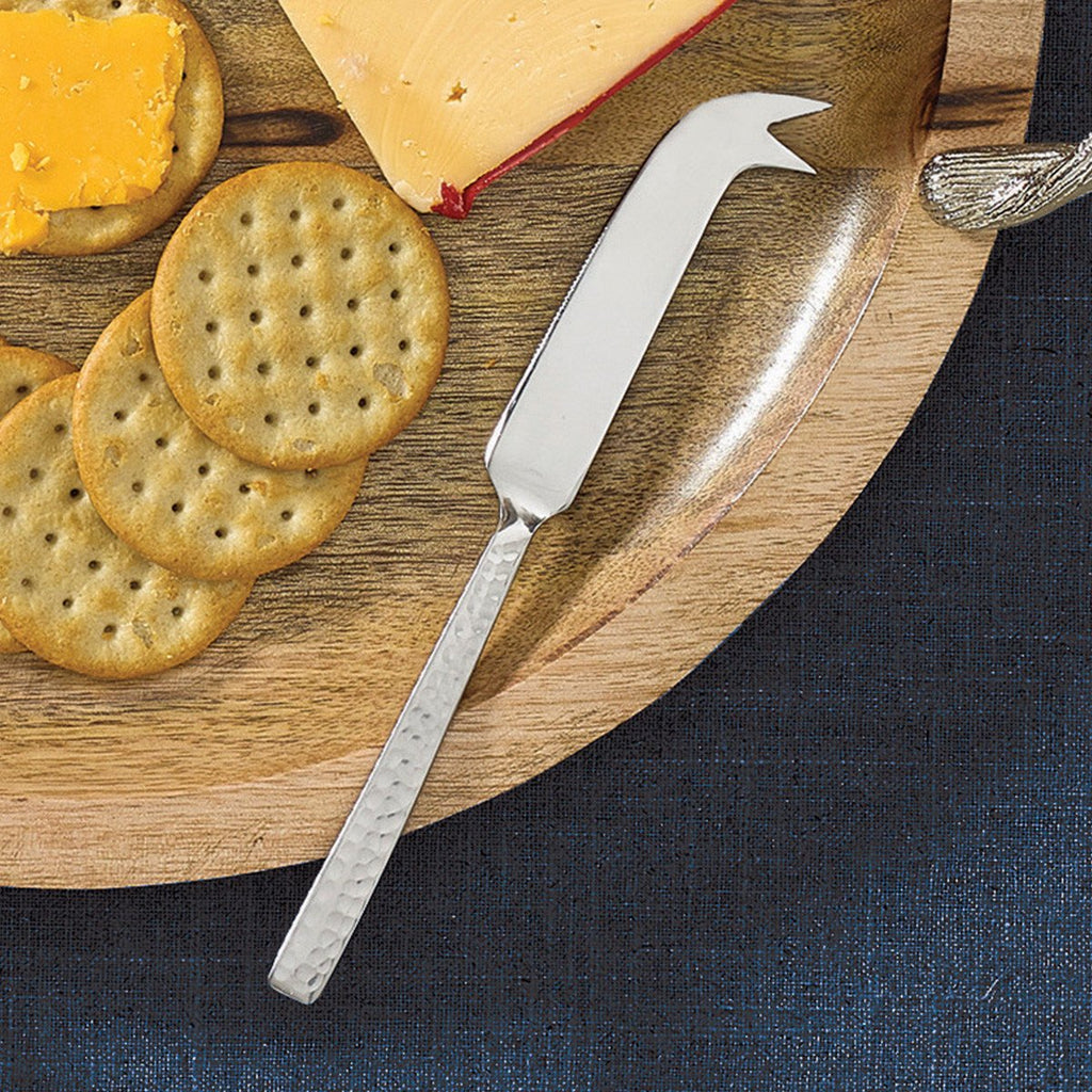 Park Designs Split P Hammered Metal Cheese Knife - Olde Church Emporium