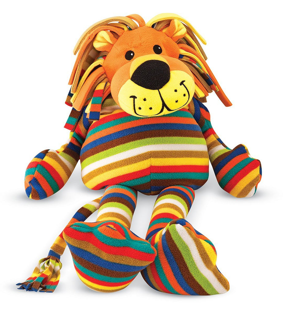 Melissa & Doug - Beeposh Collection Elvis Stuffed Lion Large Size Other Sizes Available [Home Decor]- Olde Church Emporium