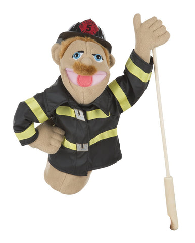 Fireman Puppet 3+ YEARS- Melissa and Doug
