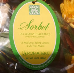 Aromatique - Sorbet Fragrance Collection - Botanicals, Candles, Refresher Oil,  Spray - Olde Church Emporium