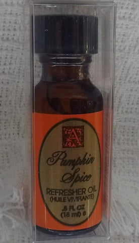 Aromatique - Pumpkin Spice Fragrance Collection - Botanicals, Candles, Refresher Oil,  Spray